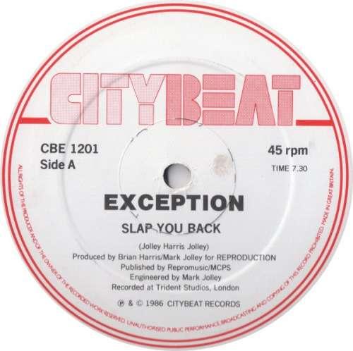 Bild Exception - Slap You Back (12) Schallplatten Ankauf