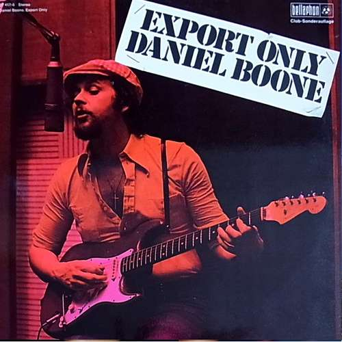 Bild Daniel Boone - Export Only (LP, Album, Club) Schallplatten Ankauf