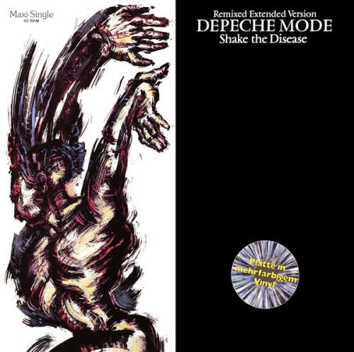 Cover Depeche Mode - Shake The Disease (Remixed Extended Version) (12, Maxi, Gre) Schallplatten Ankauf