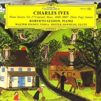 Bild Charles Ives - Roberto Szidon, Walter Stangl (2) • Dieter Sonntag - Piano Sonata No. 2 Concord, Mass., 1840-1860 • Three Page Sonata (LP) Schallplatten Ankauf