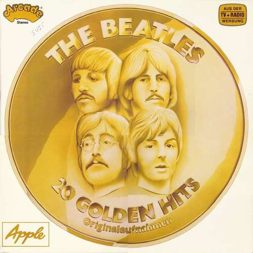 Cover The Beatles - 20 Golden Hits (LP, Comp) Schallplatten Ankauf