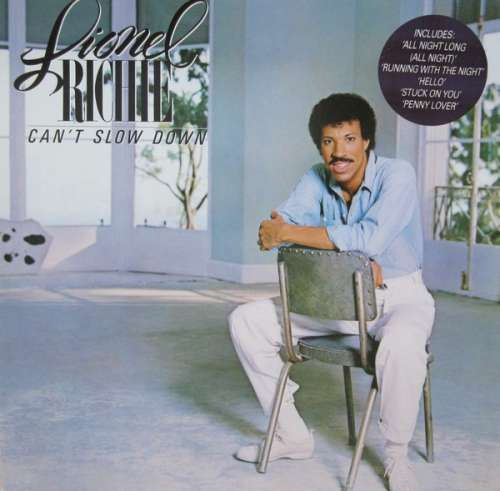 Bild Lionel Richie - Can't Slow Down (LP, Album, Gat) Schallplatten Ankauf