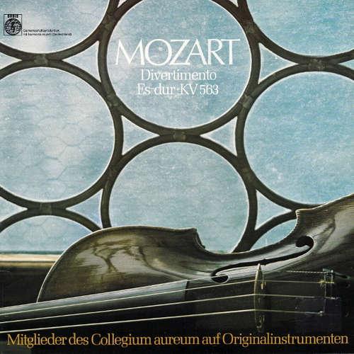 Cover zu Mozart*, Mitglieder Des Collegium Aureum Auf Originalinstrumenten* - Divertimento Es-Dur • Kv 563 (LP, Album) Schallplatten Ankauf