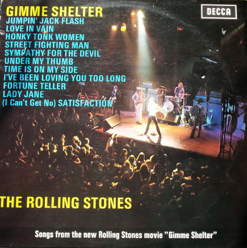 Cover The Rolling Stones - Gimme Shelter (LP, Album, Comp) Schallplatten Ankauf