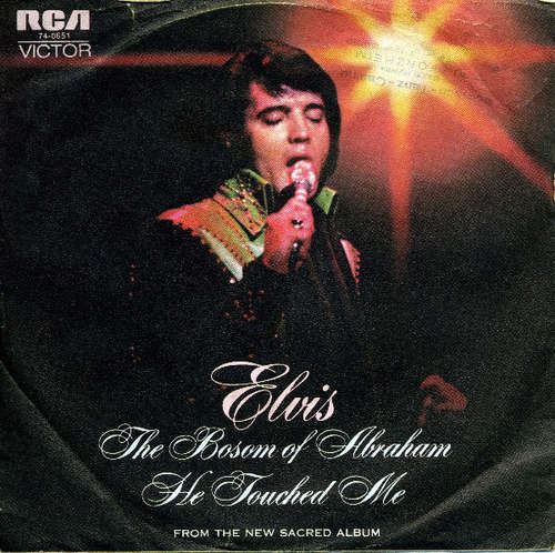 Cover Elvis Presley - The Bosom Of Abraham / He Touched Me (7, Single) Schallplatten Ankauf