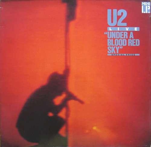 Cover U2 - Live Under A Blood Red Sky (LP, MiniAlbum) Schallplatten Ankauf