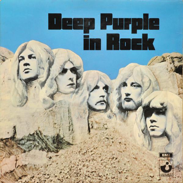 Cover Deep Purple - Deep Purple In Rock (LP, Album, RP, Gat) Schallplatten Ankauf