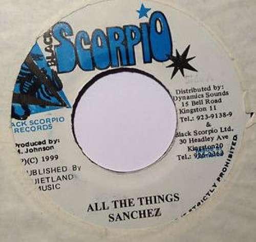 Bild Sanchez - All The Things (7) Schallplatten Ankauf