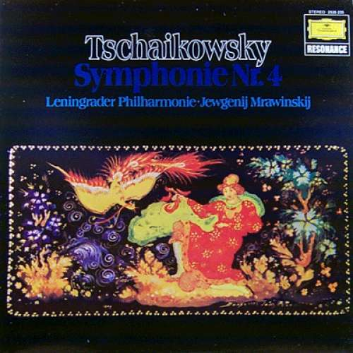 Bild Tschaikowsky* – Leningrader Philharmonie* · Jewgenij Mrawinskij* - Symphonie Nr. 4 (LP, RE) Schallplatten Ankauf