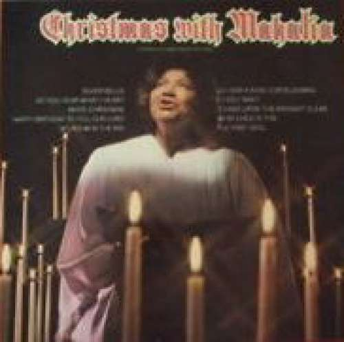 Cover zu Mahalia Jackson - Christmas With Mahalia (LP, Album, RE) Schallplatten Ankauf