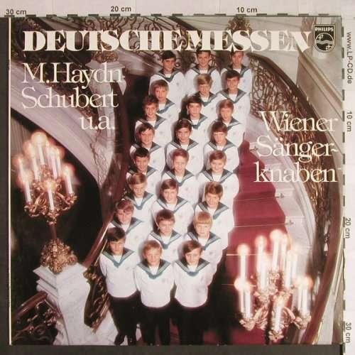 Cover zu Schubert*, M.Haydn*, Wiener Sängerknaben* - Deutsche Messen (LP, Album) Schallplatten Ankauf