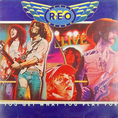 Cover zu REO Speedwagon - You Get What You Play For (2xLP, Album, Gat) Schallplatten Ankauf