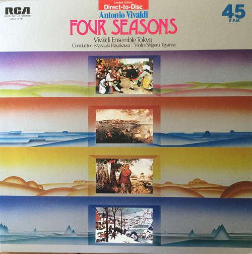 Bild Vivaldi Ensemble Tokyo, Masaaki Hayakawa, Shigeru Toyama - Antonio Vivaldi Four Season (2xLP, Ltd) Schallplatten Ankauf