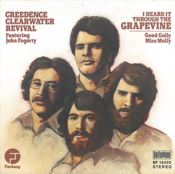 Bild Creedence Clearwater Revival - I Heard It Through The Grapevine (7, Single) Schallplatten Ankauf
