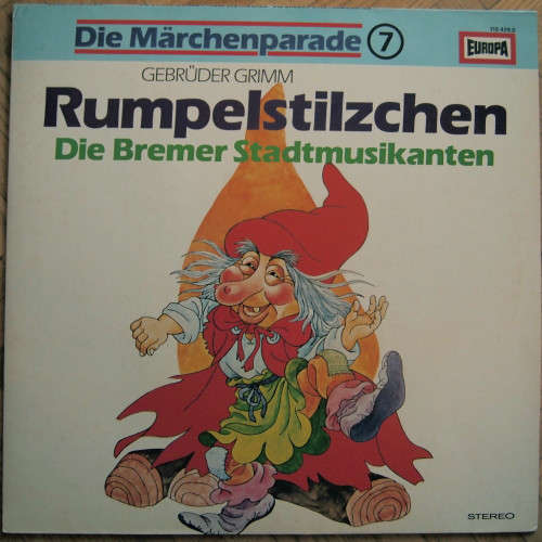 Bild Gebrüder Grimm - Rumpelstilzchen / Die Bremer Stadtmusikanten (LP) Schallplatten Ankauf