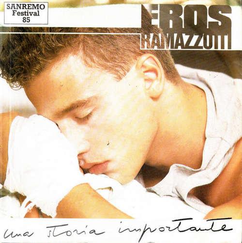 Cover zu Eros Ramazzotti - Una Storia Importante  (7, Single) Schallplatten Ankauf