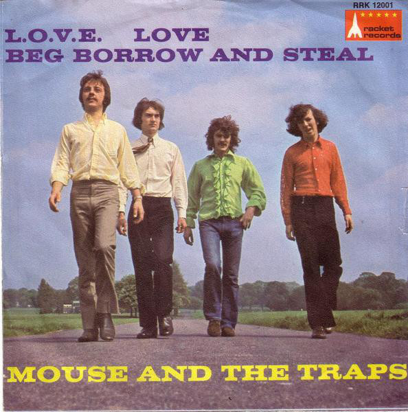 Cover Mouse And The Traps* - L.O.V.E. Love / Beg Borrow And Steal (7, Single) Schallplatten Ankauf