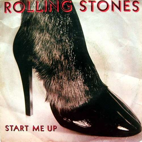 Cover The Rolling Stones - Start Me Up (7, Single) Schallplatten Ankauf