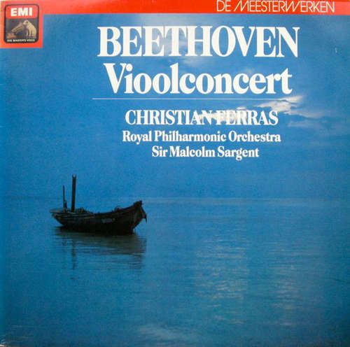 Bild Beethoven* / Christian Ferras / Royal Philharmonic Orchestra* / Sir Malcolm Sargent - Vioolconcert (LP) Schallplatten Ankauf