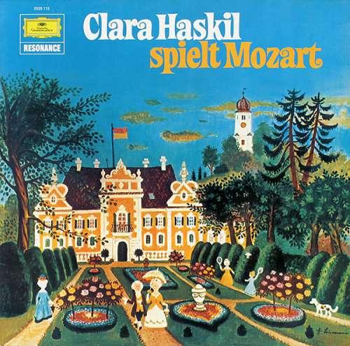 Cover zu Clara Haskil Spielt Mozart* - Clara Haskil Spielt Mozart (LP, RE) Schallplatten Ankauf