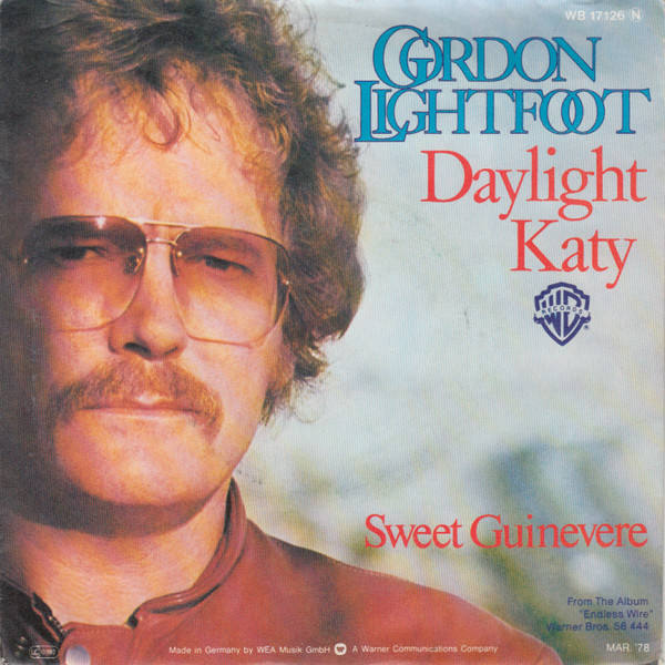Cover Gordon Lightfoot - Daylight Katy (7, Single) Schallplatten Ankauf