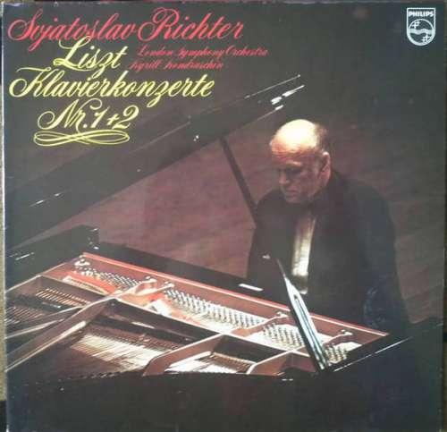 Cover zu Svjatoslav Richter* - Liszt*, London Symphony Orchestra*, Kyrill Kondrashin* - Klavierkonzerte Nr. 1+2 (LP, Club, RE, Gat) Schallplatten Ankauf