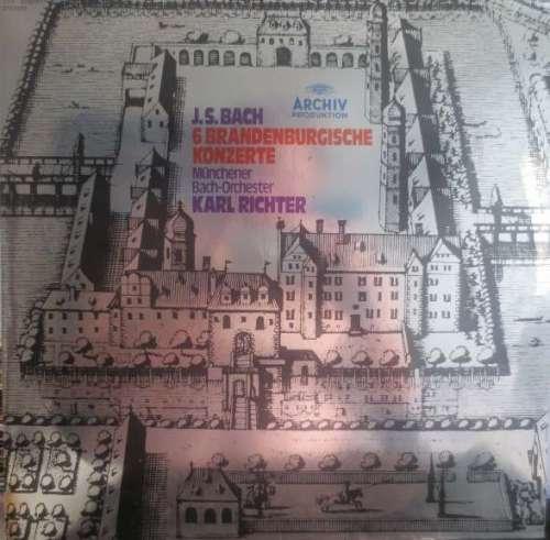 Bild J.S.Bach*, Münchener Bach-Orchester, Karl Richter - 6 Brandenburgische Konzerte (2xLP, RE, Gat) Schallplatten Ankauf
