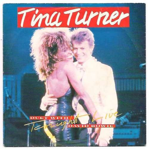 Cover Tina Turner Duet With David Bowie - Tonight (Live) (12, Maxi) Schallplatten Ankauf