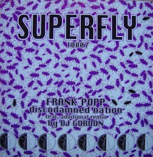 Cover zu Frank Popp - Discodamned Nation (12) Schallplatten Ankauf