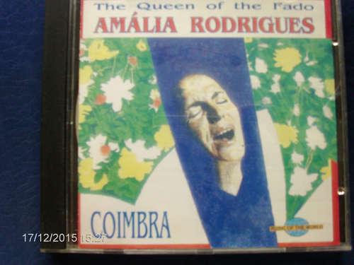 Cover Amália Rodrigues - The Queen Of The Fado - Coimbra (CD, Comp) Schallplatten Ankauf