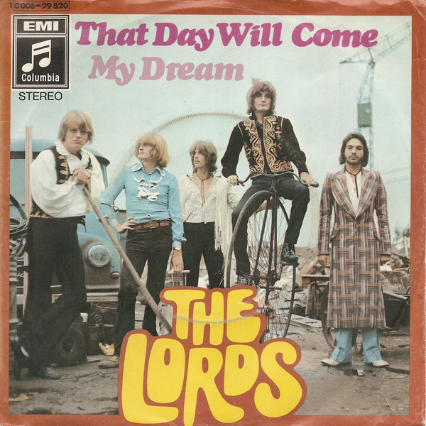 Cover The Lords - That Day Will Come / My Dream (7, Single) Schallplatten Ankauf