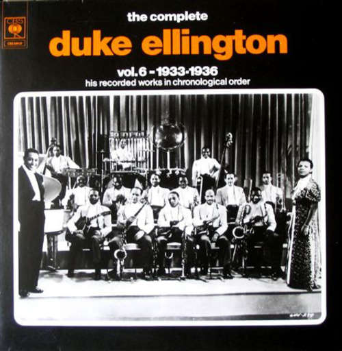 Bild Duke Ellington - The Complete Duke Ellington Volume 6: 1933-1936 (2xLP, Comp) Schallplatten Ankauf