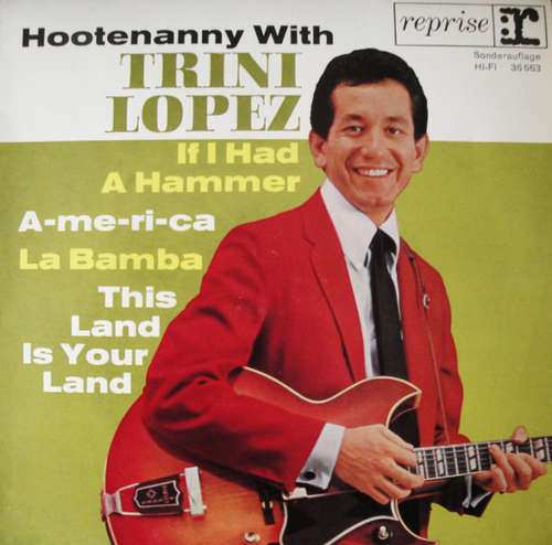 Bild Trini Lopez - Hootenanny With Trini Lopez (7, EP, Club, RE) Schallplatten Ankauf