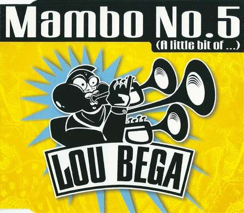 Bild Lou Bega - Mambo No.5 (A Little Bit Of ...) (CD, Single) Schallplatten Ankauf
