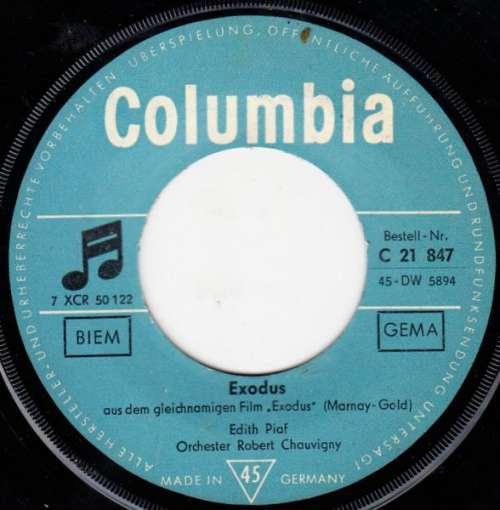 Bild Edith Piaf - Exodus (7, Single) Schallplatten Ankauf