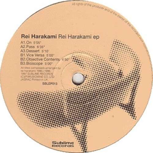 Cover zu Rei Harakami - Rei Harakami EP (12, EP) Schallplatten Ankauf