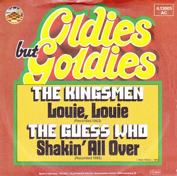 Bild The Kingsmen / The Guess Who - Louie Louie / Shakin' All Over (7, Single) Schallplatten Ankauf