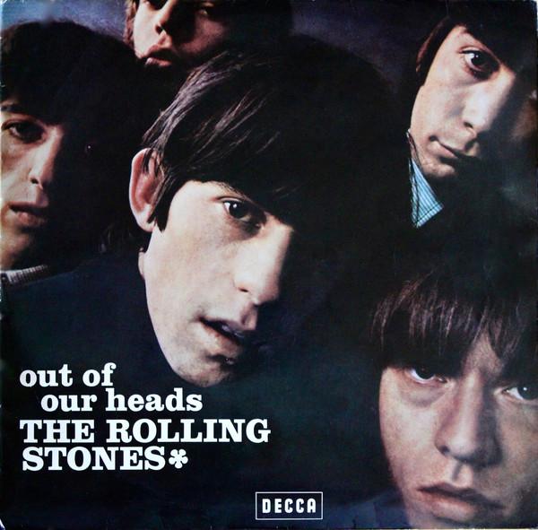 Cover zu The Rolling Stones - Out Of Our Heads (LP, Album) Schallplatten Ankauf