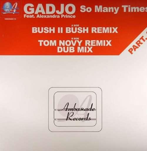 Bild Gadjo Feat. Alexandra Prince - So Many Times (Part. 3) (12) Schallplatten Ankauf