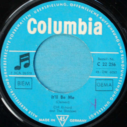 Bild Cliff Richard And The Shadows* - It'll Be Me / Since I Lost You (7, Single) Schallplatten Ankauf