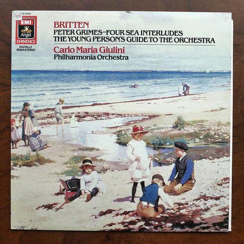 Cover Benjamin Britten, Carlo Maria Giulini, Philharmonia Orchestra - Peter Grimes-Four Sea Interludes / The Young Person's Guide To The Orchestra (LP, Dig) Schallplatten Ankauf