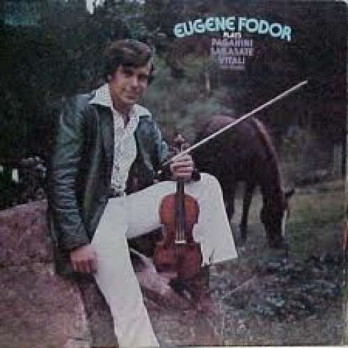 Cover zu Eugene Fodor - Eugene Fodor Plays Paganini, Sarasate, Vitali And Others (LP) Schallplatten Ankauf