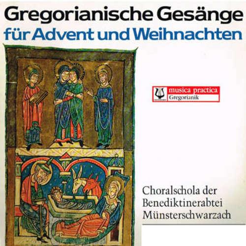 Bild Choralschola Der Benediktinerabtei Münsterschwarzach - Gregorianische Gesänge Für Advent Und Weihnachten (LP, Gat) Schallplatten Ankauf