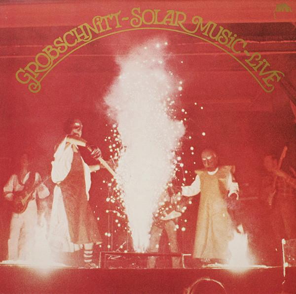 Cover Grobschnitt - Solar Music - Live (LP, RP, Gat) Schallplatten Ankauf
