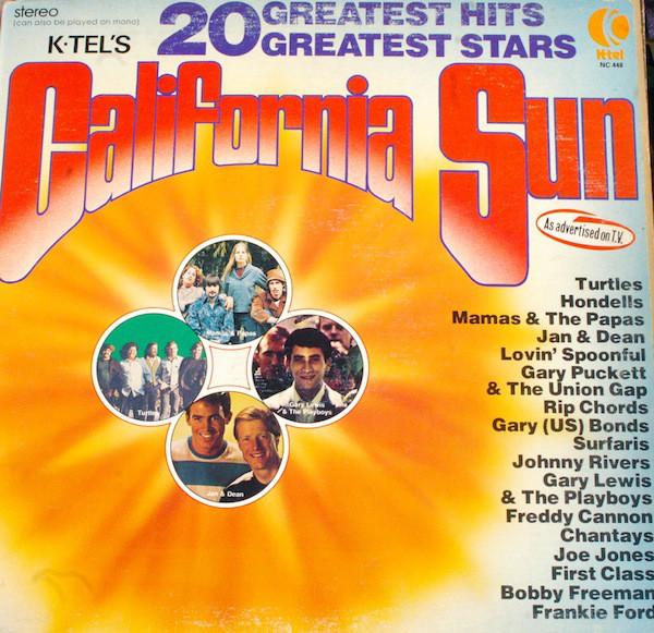 Cover zu Various - K-Tel's California Sun (LP, Comp) Schallplatten Ankauf