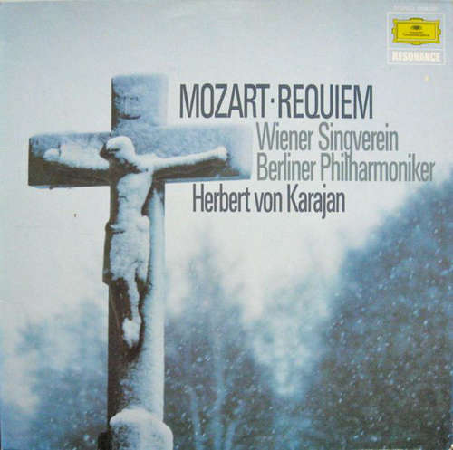 Bild Mozart* - Herbert von Karajan, Wiener Singverein, Berliner Philharmoniker - Requiem (LP, RE) Schallplatten Ankauf