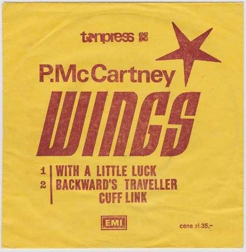Bild Wings (2) - With A Little Luck (7, Single) Schallplatten Ankauf
