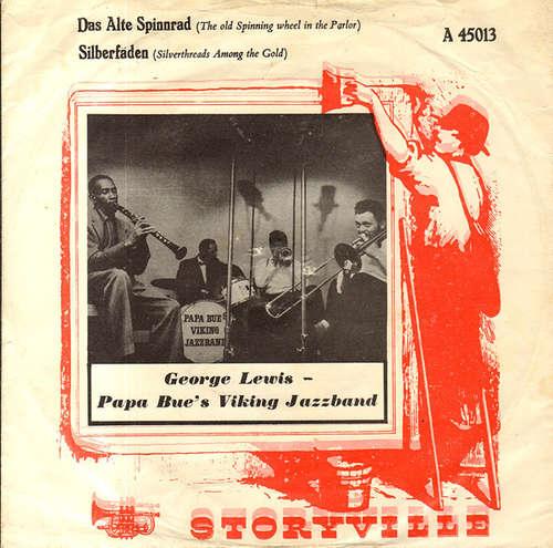 Bild George Lewis (2) With Papa Bue's Viking Jazzband* - Das Alte Spinnrad (7, Red) Schallplatten Ankauf