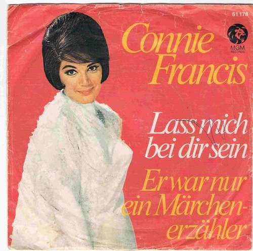 Bild Connie Francis - Lass Mich Bei Dir Sein / Er War Nur Ein Märchenerzähler (7, Mono) Schallplatten Ankauf