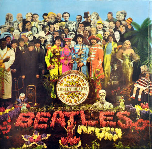 Cover The Beatles - Sgt. Pepper's Lonely Hearts Club Band (LP, Album, RP, 2 B) Schallplatten Ankauf